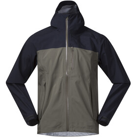 Bergans Oslo 3L LT Jas Heren, green mud/dark navy